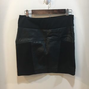 BCBGeneration Leather Skirt